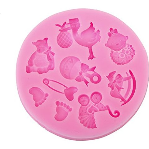 Silicone Mini Baby Items Mould
